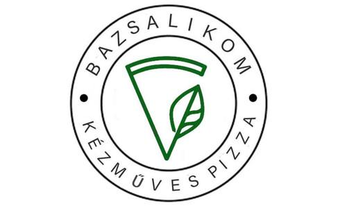 Bazsalikom Kézműves Pizza logo