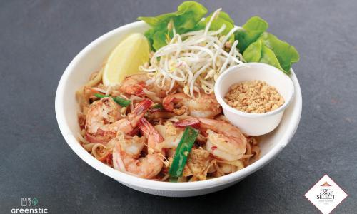 Phad Thai - Tradicionális sült tészta - Tom Yum Thai Étterem