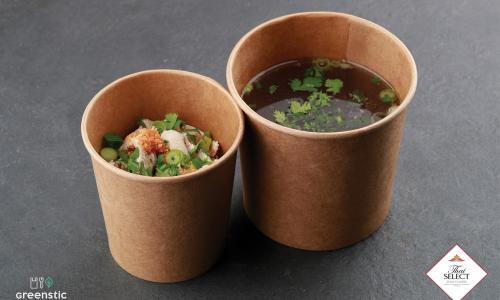 Gouy Tiao - Rizstésztás leves - Tom Yum Thai Étterem