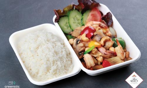 Phad Med Ma Muang - Kesudiós, zöldséges wok - Tom Yum Thai Étterem
