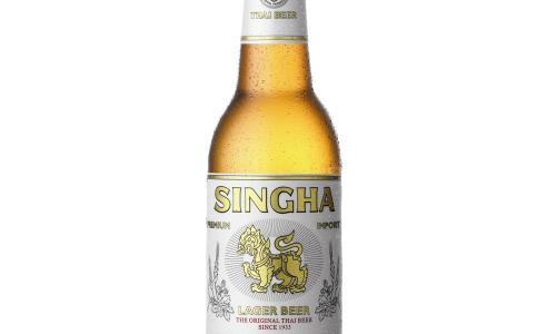SINGHA - Prémium thai üveges lager sör - Tom Yum Thai Étterem